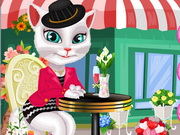 Play Talking Angela Dress Up Online